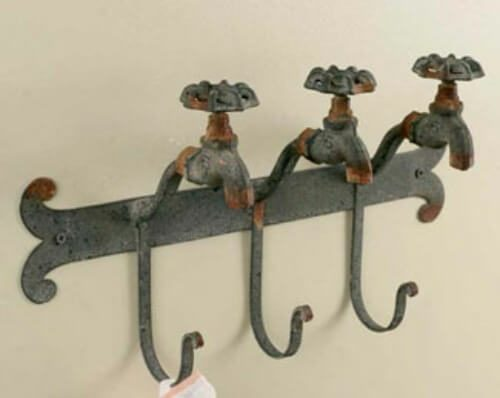 Faucet towel holder
