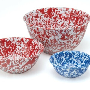 Splatterware bowls