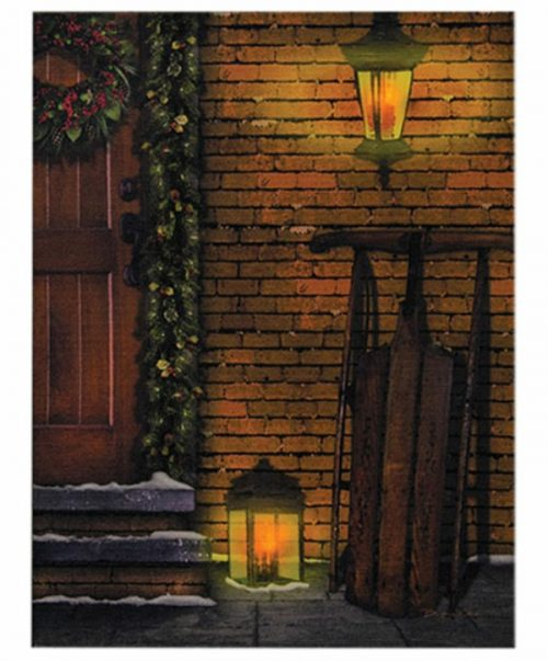 Door lit canvas