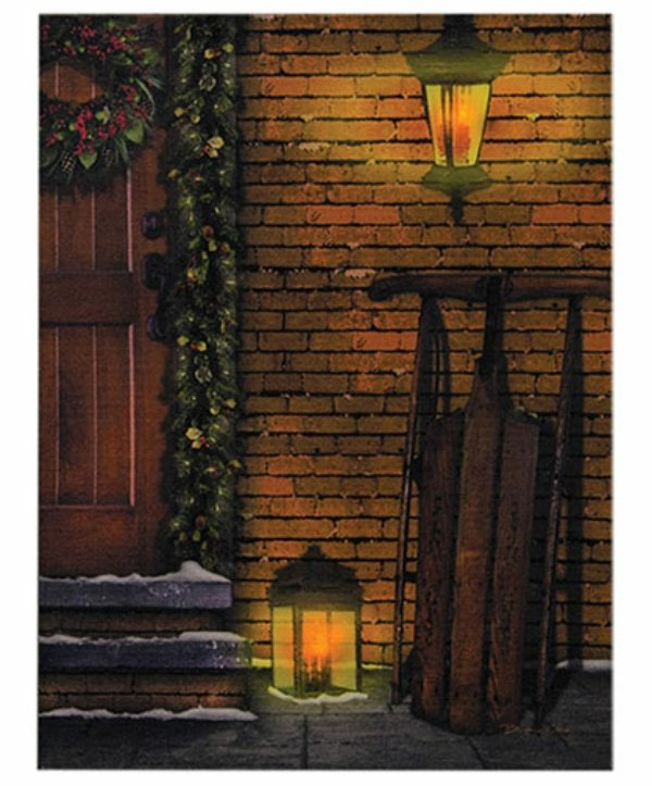Door lit canvas
