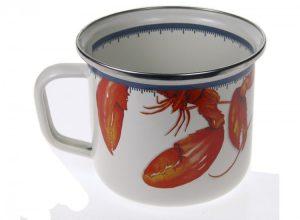 Lobster Grande Enamel Mug