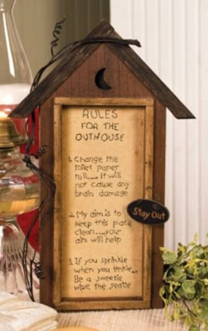 Outhouse Rules Stitchery