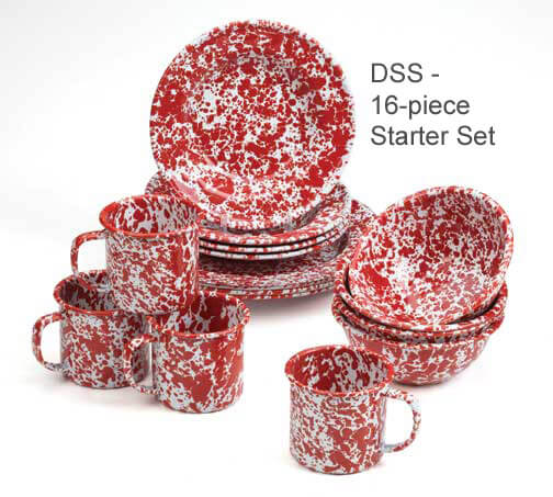 Starter set splatterware
