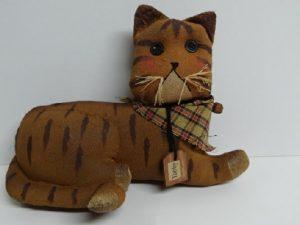 Tabby Cat Stuffed Animal
