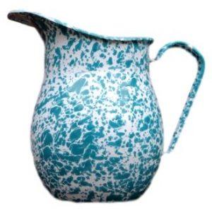 Enamel pitcher turqu