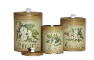 Canister set Freshness of Spring