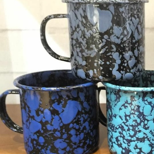 16 ounce enamelware mug