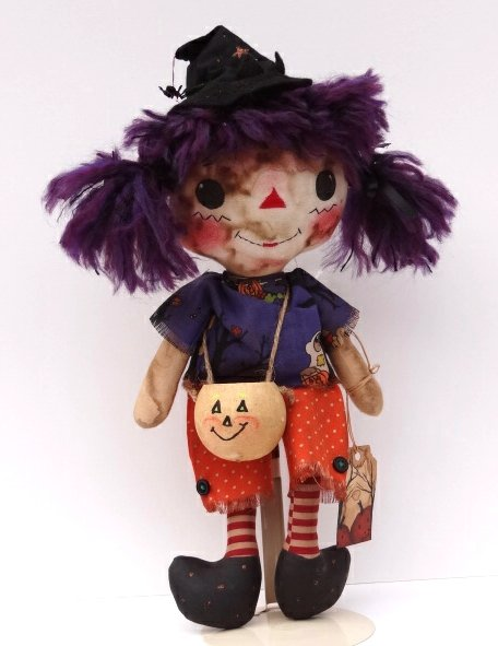 halloween rag doll