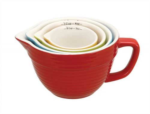 Ceramic measuring cups