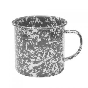 Jumbo marbled 24 ounce mug