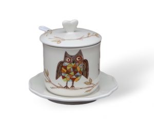 Give a hoot tea cup