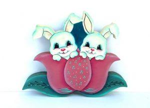 Rabbit tulips