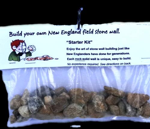 New England stone wall